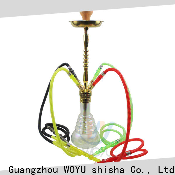 WOYU 100% quality zinc alloy shisha supplier for business
