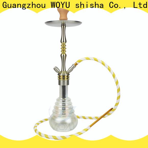WOYU hot new releases aluminum shisha from China for importer