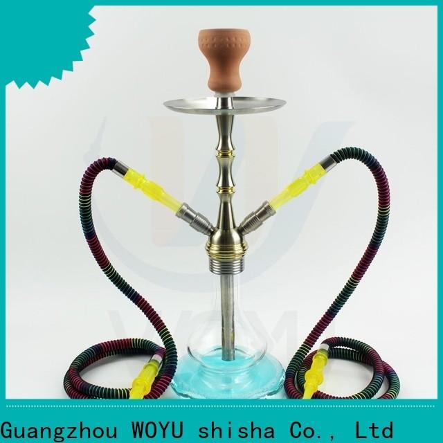 WOYU 100% quality aluminum shisha one-stop services for importer