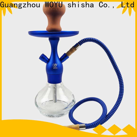 WOYU personalized aluminum shisha from China for b2b