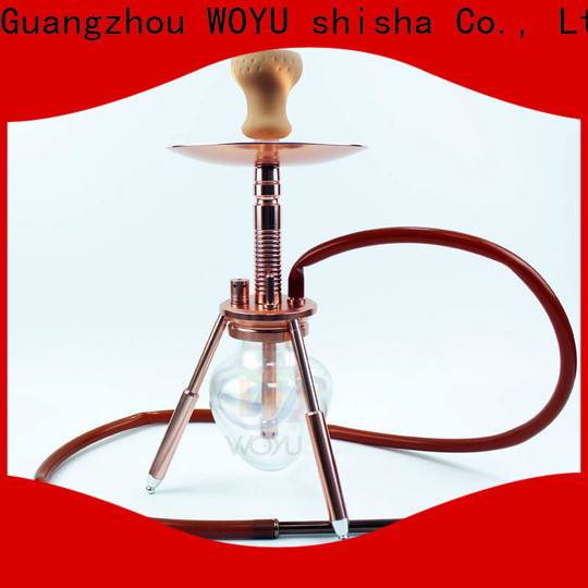 WOYU aluminum shisha one-stop services for business