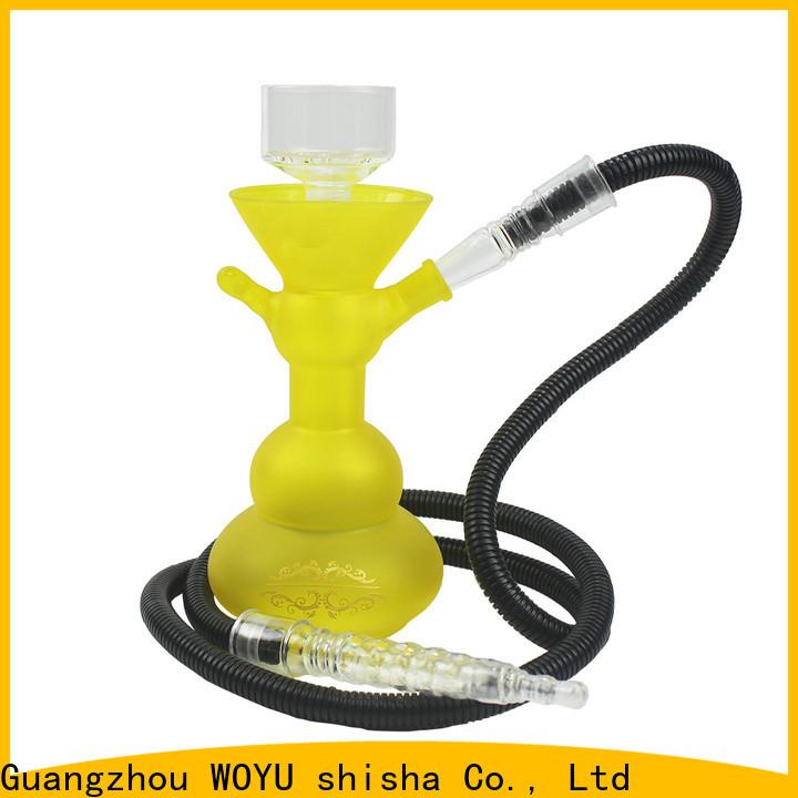 WOYU 100% quality glass shisha factory for b2b
