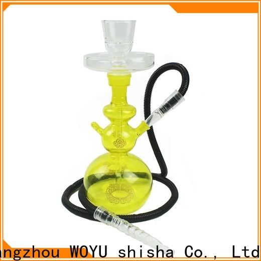 WOYU glass shisha supplier for business