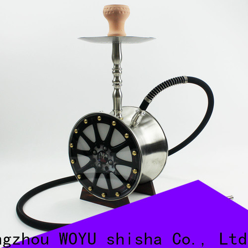 WOYU professional stainless steel shisha factory for importer