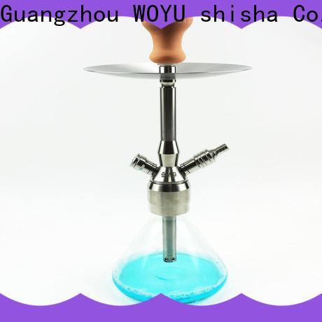 WOYU personalized stainless steel shisha factory for b2b