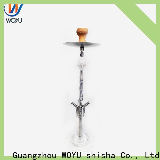 WOYU stainless steel shisha supplier for importer