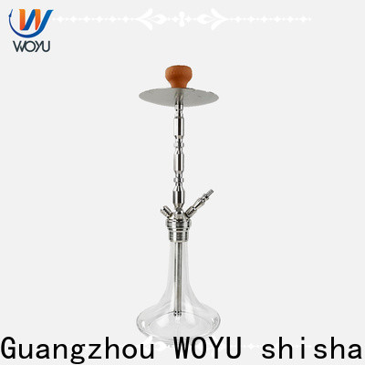 WOYU stainless steel shisha manufacturer for market