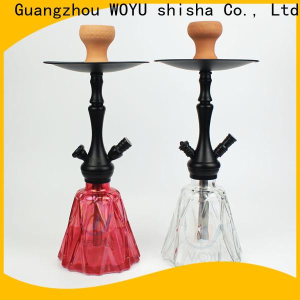 WOYU personalized zinc alloy shisha supplier for business