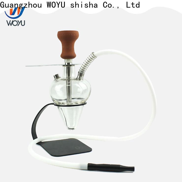 WOYU traditional glass shisha factory for market
