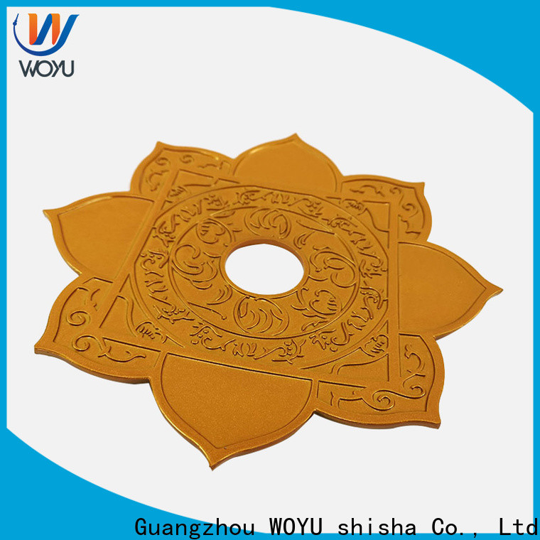 WOYU cheap shisha plate manufacturer for market