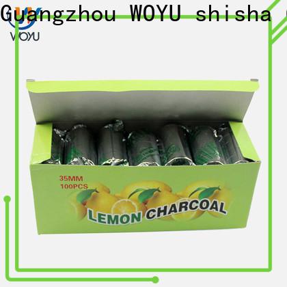 WOYU hookah charcoal brand for importer