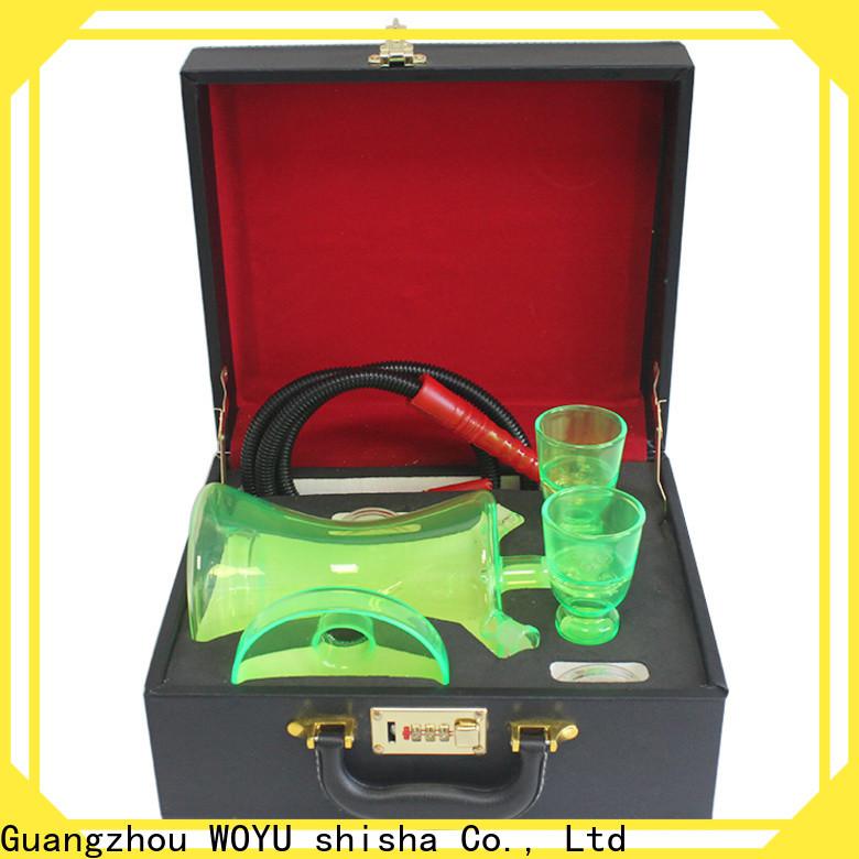 WOYU glass shisha factory for importer
