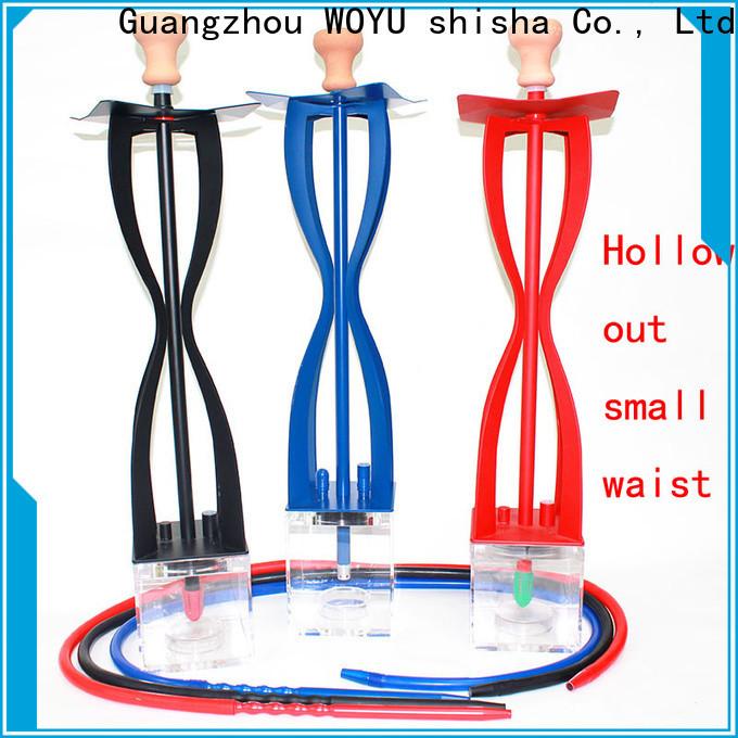 WOYU professional acrylic shisha wholesale for importer
