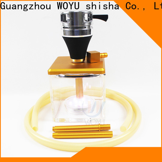WOYU inexpensive acrylic shisha from China for trader