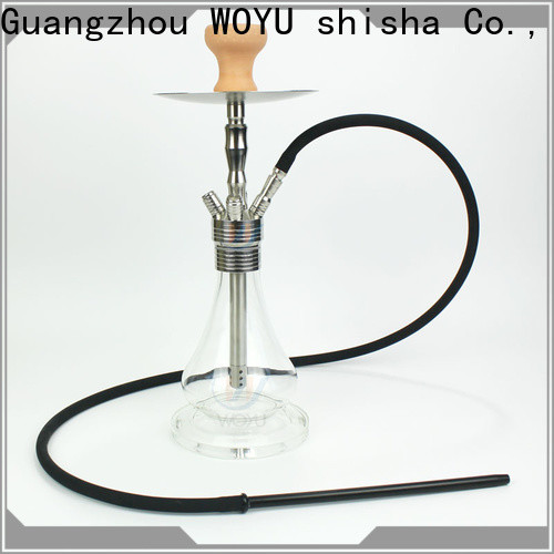 WOYU stainless steel shisha factory for business