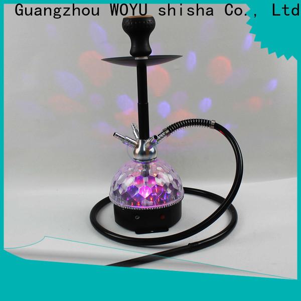 WOYU professional acrylic shisha wholesale for trader