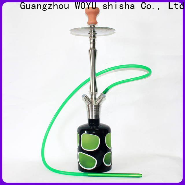 WOYU stainless steel shisha manufacturer for importer