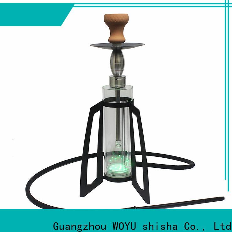 WOYU personalized acrylic shisha from China for b2b