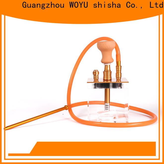 WOYU professional acrylic shisha one-stop services for market