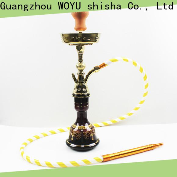 WOYU 100% quality zinc alloy shisha factory for business
