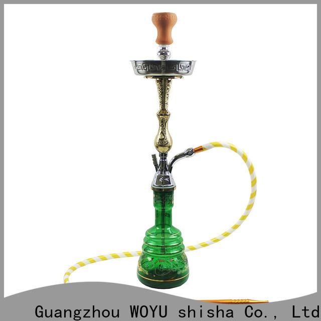 WOYU zinc alloy shisha manufacturer for b2b