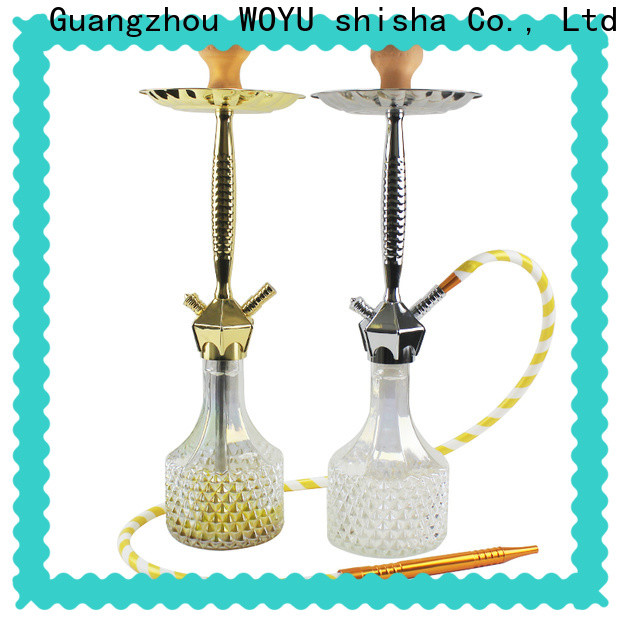 WOYU 100% quality zinc alloy shisha manufacturer for market