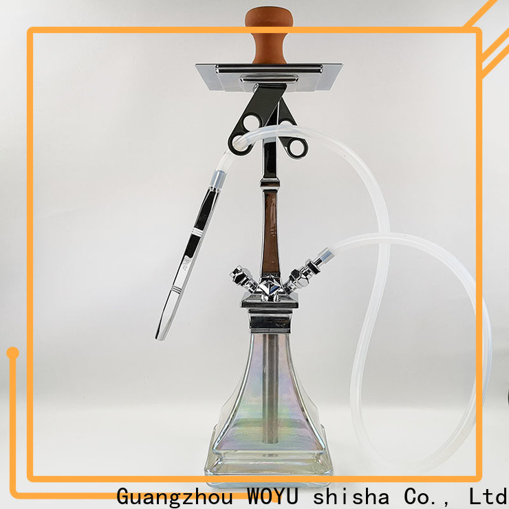WOYU 100% quality zinc alloy shisha manufacturer for trader