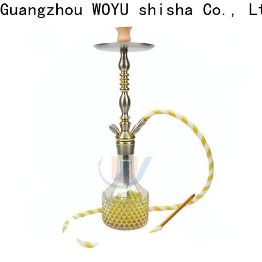 WOYU 100% quality aluminum shisha from China for trader