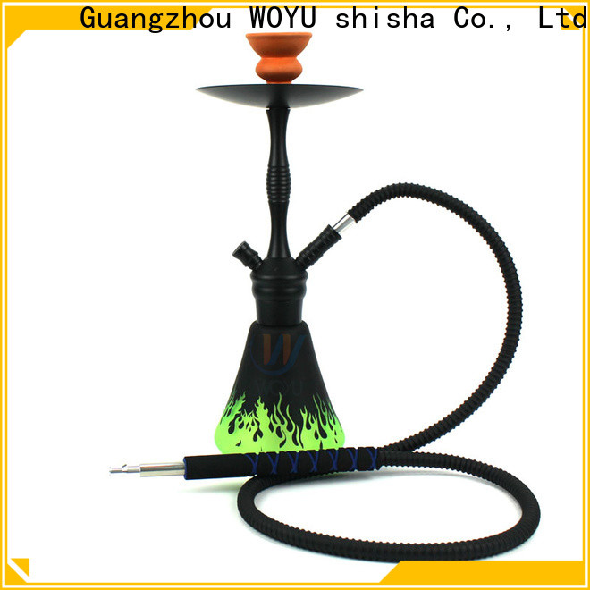 WOYU aluminum shisha one-stop services for market