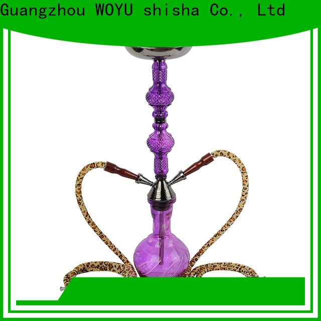 WOYU high standard iron shisha wholesale