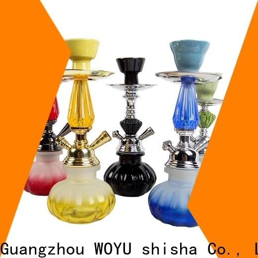 WOYU cheap iron shisha factory
