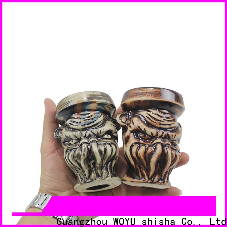 WOYU durable electronic hookah bowl design for trader