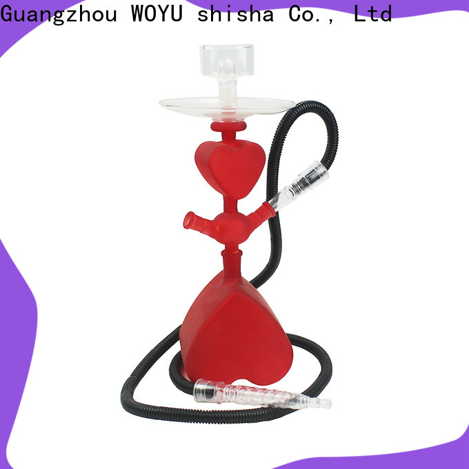 WOYU traditional glass shisha factory for business