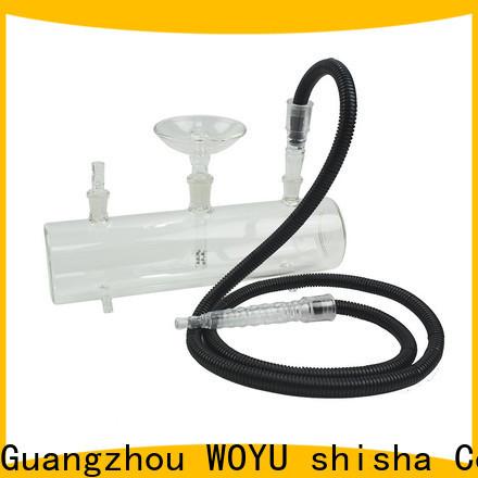 WOYU best-selling glass shisha factory for importer