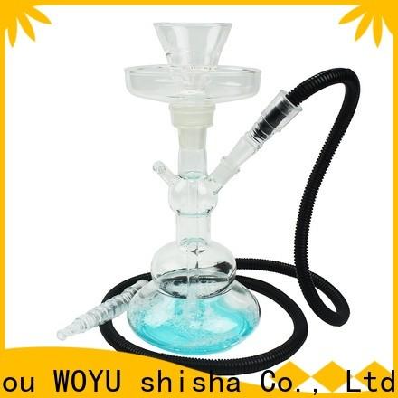 WOYU 100% quality glass shisha manufacturer for business