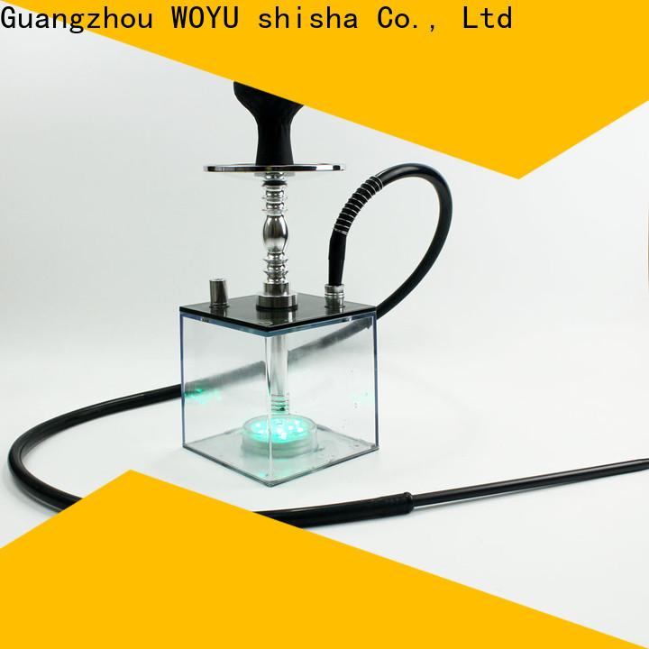 WOYU inexpensive acrylic shisha wholesale for b2b