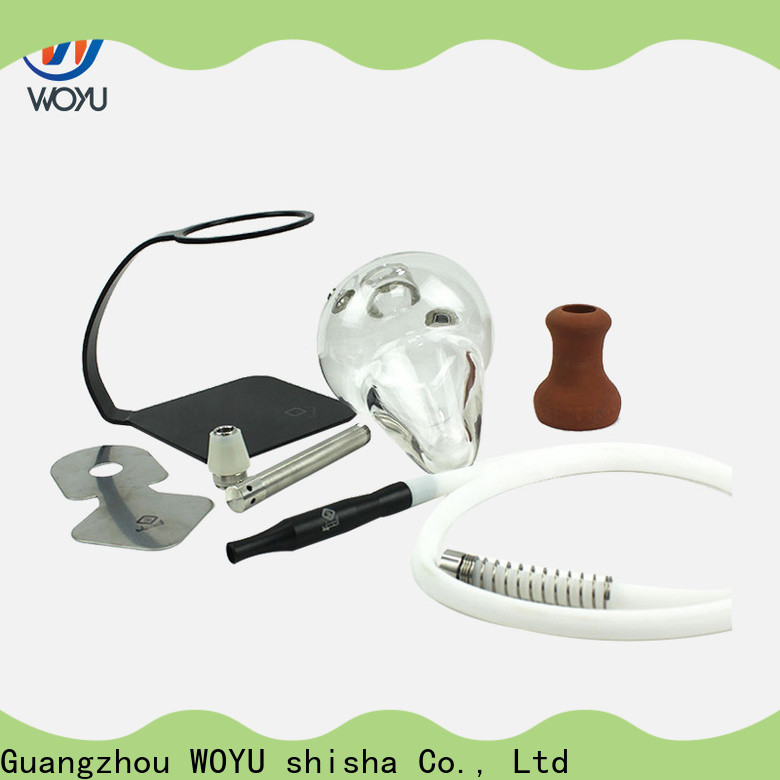 WOYU aluminum shisha from China for trader