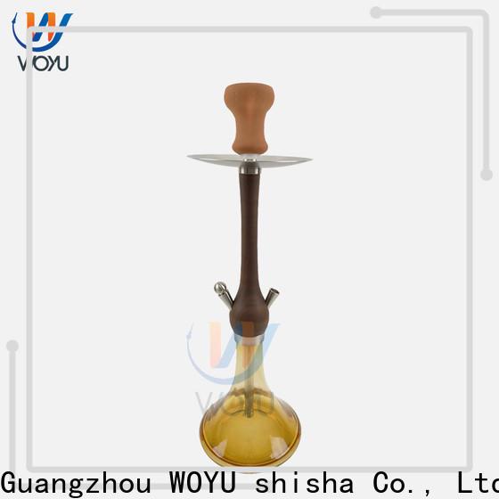 WOYU wooden shisha customization for business
