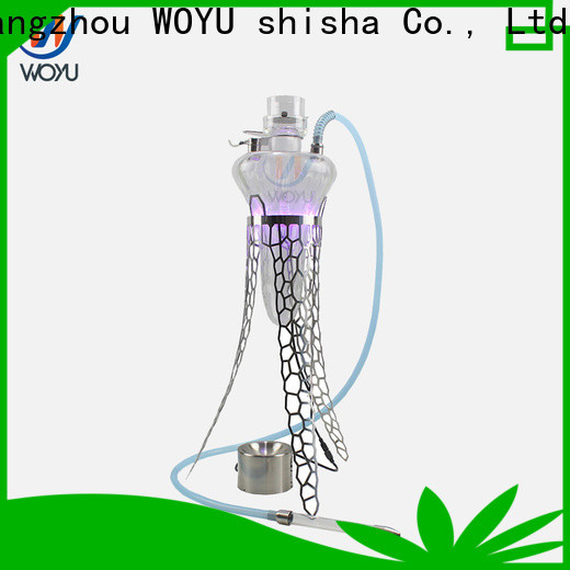 WOYU traditional stainless steel shisha factory for trader