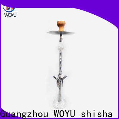 WOYU professional stainless steel shisha supplier for importer