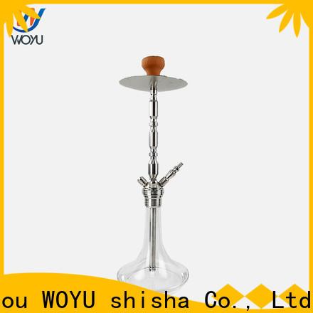 WOYU inexpensive stainless steel shisha factory for trader
