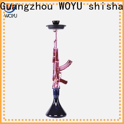 WOYU personalized resin shisha factory for business