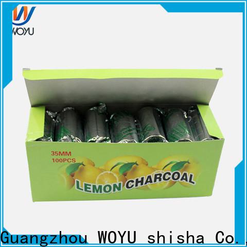 WOYU reliable shisha charcoal factory for importer