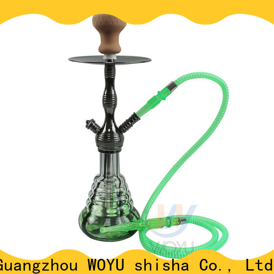 WOYU zinc alloy shisha supplier for trader
