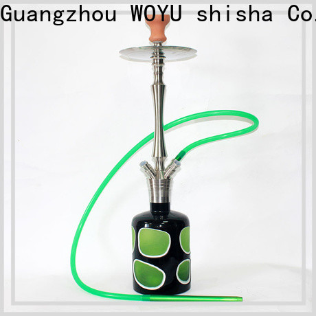WOYU inexpensive stainless steel shisha factory for business
