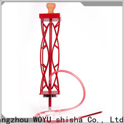 WOYU acrylic shisha one-stop services for market