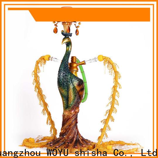 WOYU high standard resin shisha factory for importer