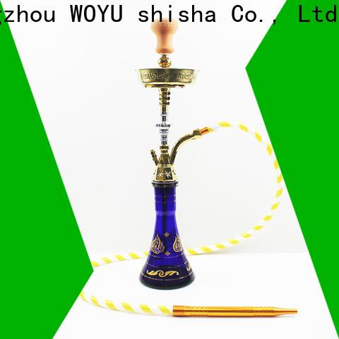 WOYU personalized zinc alloy shisha manufacturer for business