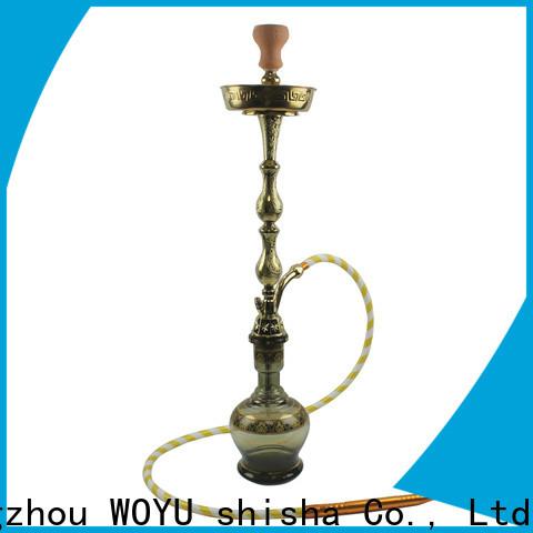 WOYU zinc alloy shisha factory for importer