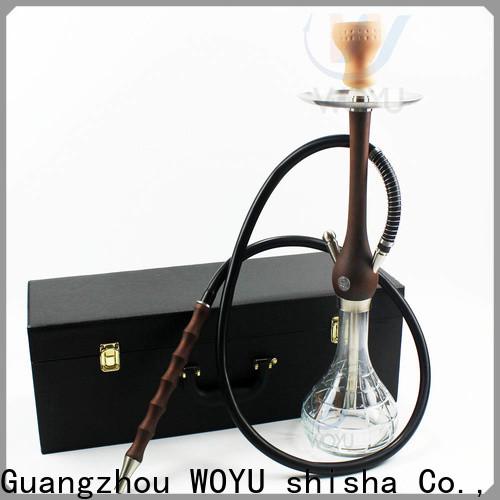 WOYU wooden shisha customization for importer